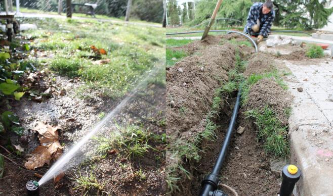 Servicios dymja for Instalacion riego jardin